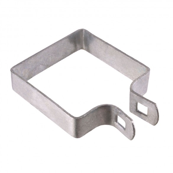 """3"""" Square Brace Band Chain Link 7/8"""" Galvanized Steel"""