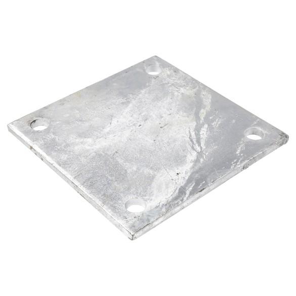 "8"" X 8"" X 3/8"" Floor Plate Galvanized Pressed Steel"