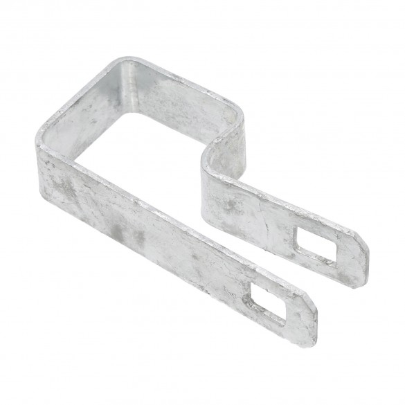 "1 1/2"" Square Tension Band Chain Link 7/8"" Galvanized Steel"