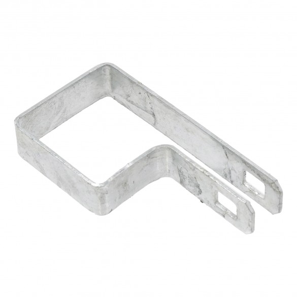 """2"""" Square Tension Band Chain Link 7/8"""" Galvanized Steel"""