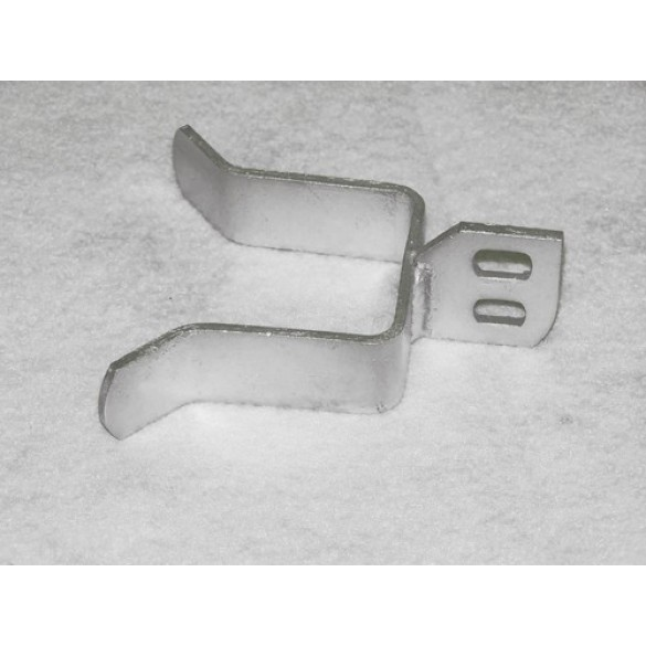 """1"""" Square Pressed Steel Drop Fork for Chain Link Fence"""