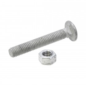 "3/8"" x 2 1/2"" Carriage Bolts & Nuts"