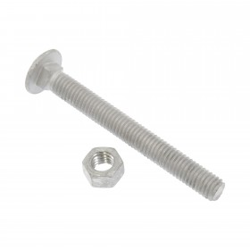 """3/8"""" x 3 1/2"""" Carriage Bolts & Nuts"""