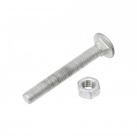 "5/16"" x 2 1/2"" Carriage Bolts & Nuts"