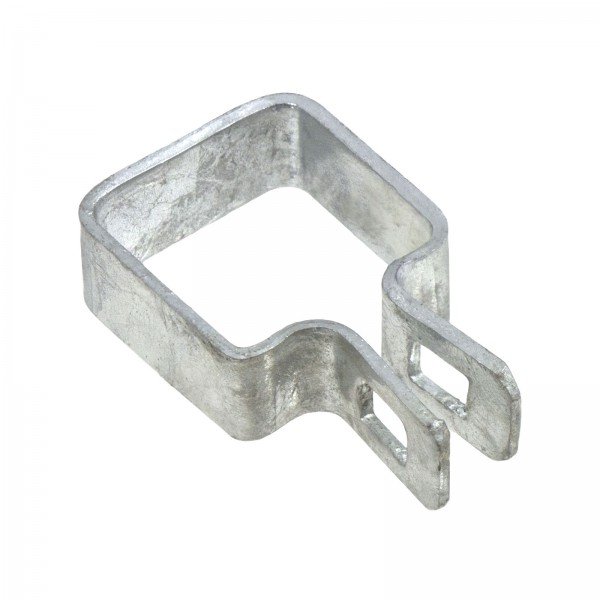"1 1/2"" Square Brace Band Chain Link 7/8"" Galvanized Steel"