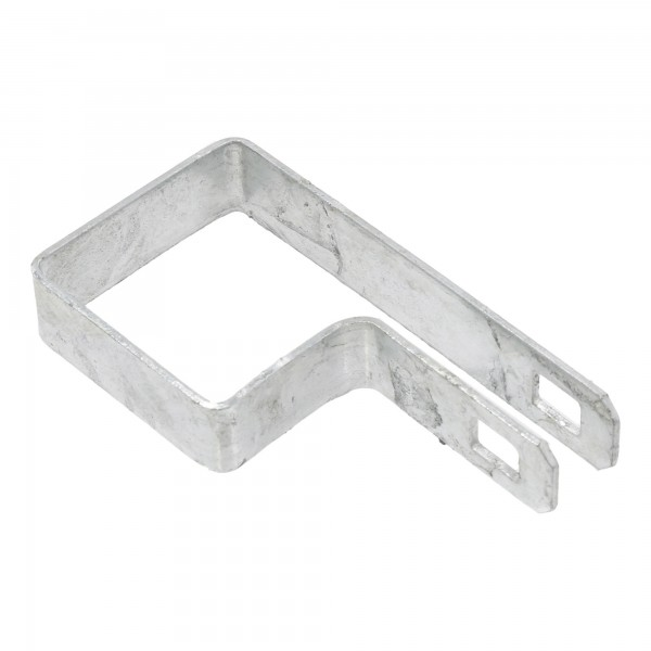 "2"" Square Tension Band Chain Link 7/8"" Galvanized Steel"