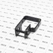 """2"""" Sq. Steel Fence Universal Boulevard Bracket Black - Compare to Ameristar (Grid Shown For Scale)"""