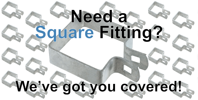 Quality Square Fence Fittings